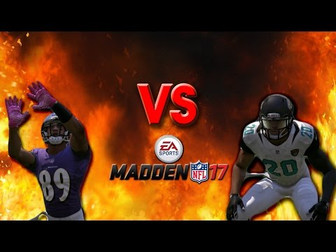 Steve Smith Sr. VS Jalen Ramsey (Madden 17)
