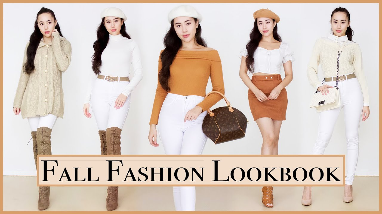 [VIDEO] - FALL OUTFIT IDEAS ? Fall Fashion Lookbook 2019 7