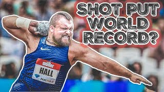 Strongman Tries Olympic Shot Put!