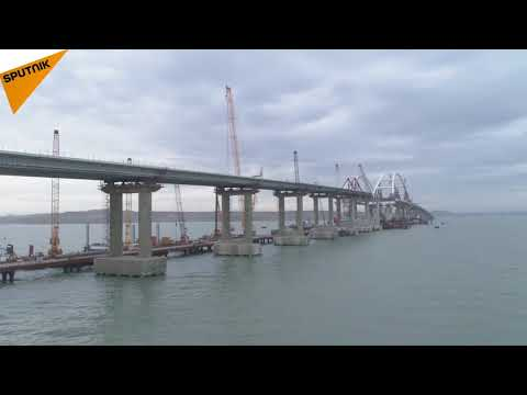 The Crimea Bridge Just Took Another Step Towards Completion