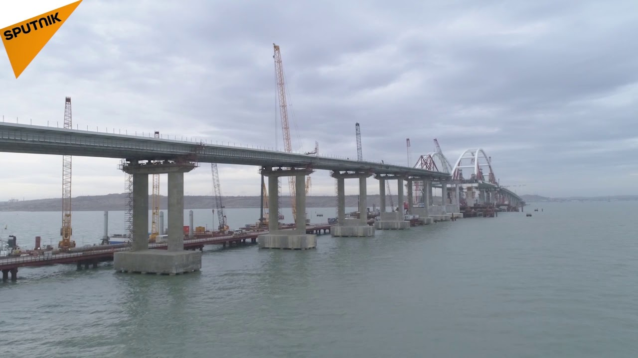 In 2018 Kerch Bridge to the Crimea will be erected 7