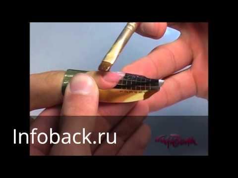 Видео обучение по наращиванию ногтей