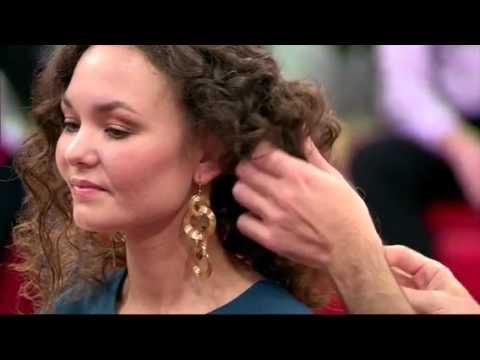 Модный приговор Укладки на кудрявых волосах