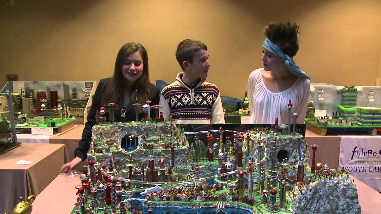 Pictures Of Toy Models Of Cities : Future city  national finals new jersey youtube