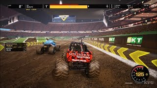 Monster Jam Steel Titans - Gameplay (PC HD) [1080p60FPS]