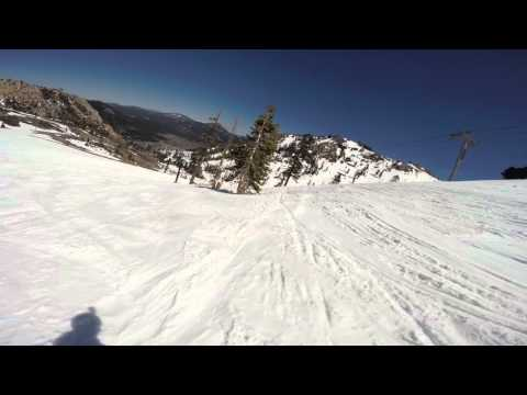 GoPro Line of the Winter: Jared Dalen - Squaw Valley, California 04.20.16 - Snow