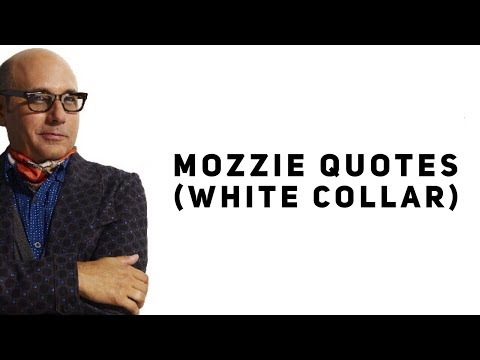 Mozzie Quotes (White Collar) - YouTube