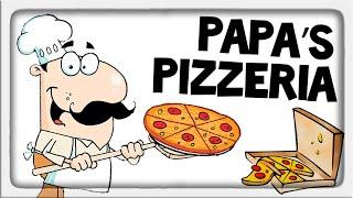 ПАПА ПИЦЦЕРИЯ ! ДИКАЯ НОСТАЛЬГИЯ ! ◉ Papa's Pizzeria