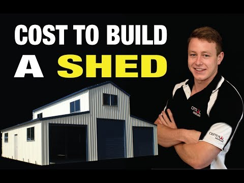 How Much Does It Cost To Build A Shed