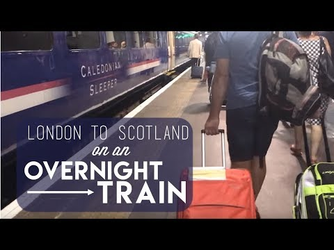 London to Scotland on an Overnight Train