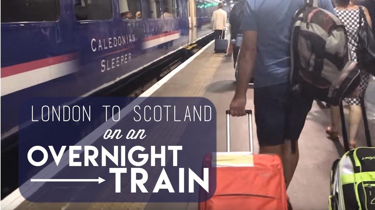 London To Scotland On An Overnight Train