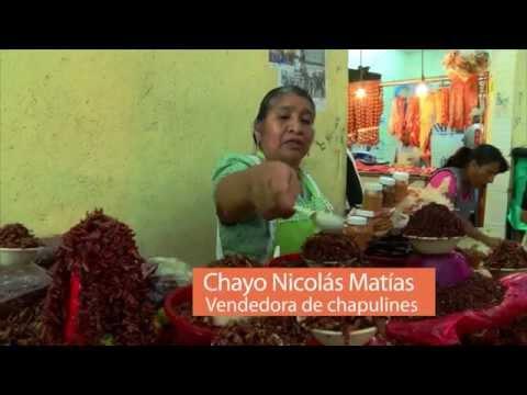 Soy Oaxaca Soy CORTV -  Vendedora de Chapulines