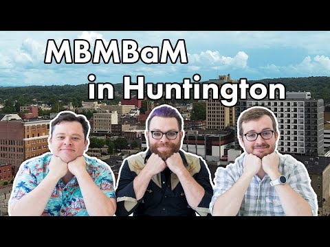MBMBaM Tour Of Huntington WV | On Location At My Brother My Brother And Me TV Show Filming Locations