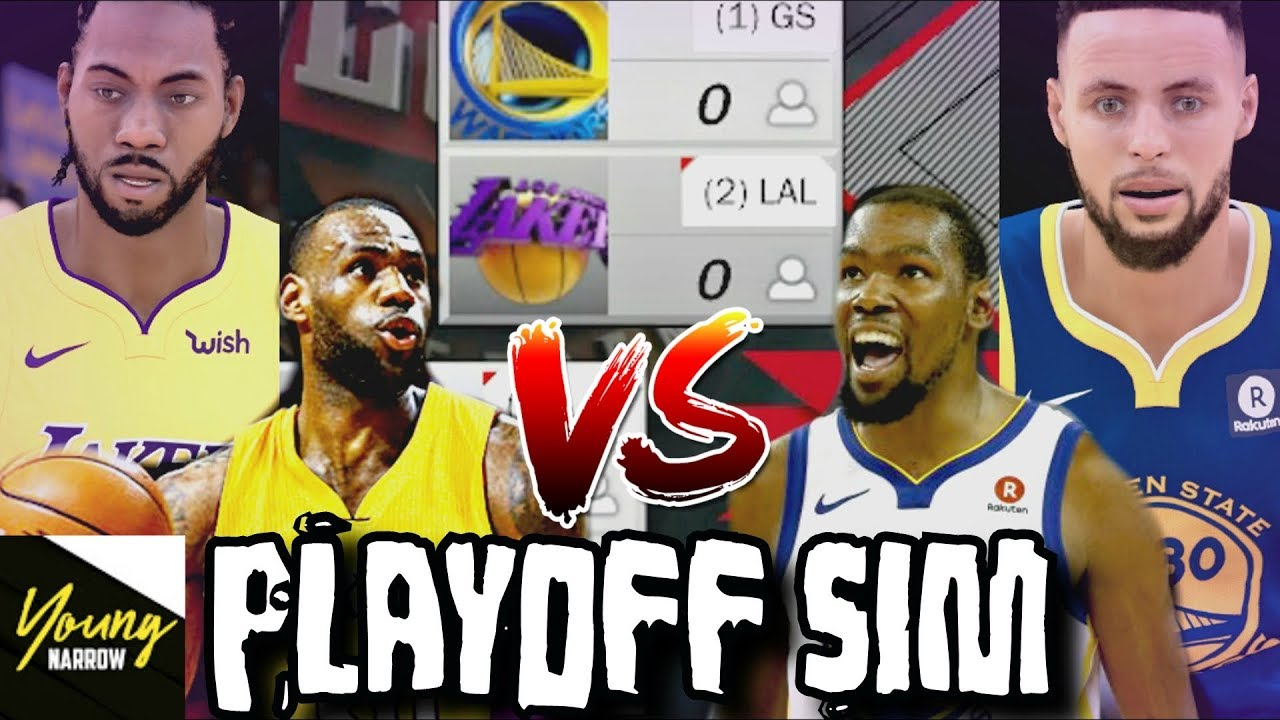 2019 LAKERS VS. 2019 WARRIORS 7 GAME SERIES PLAYOFF ...Lakers Game