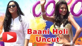 Colors Serial  Bani - Ishq da Kalma Team Holi Celebrations