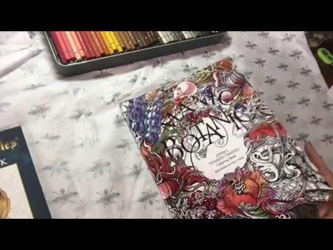 Manic Botanic Coloring Book By Irina Vinnick And Zifflin