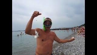 Геленджик.  Подводная рыбалка и авиашоу. 06.09.2018