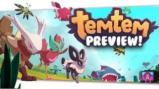 "🦄""TemTem"" New Pokemon like MMORPG | Pre Impressions By Skylent 2018 Kickstarter"