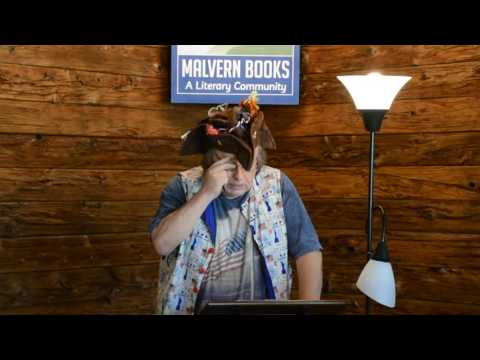 "Austin Writers Roulette ""Cultural Mosaic"" at Malvern Books 9/11/16 pt. 2"
