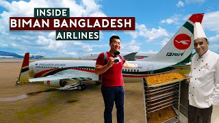 Inside Biman Bangladesh Airlines