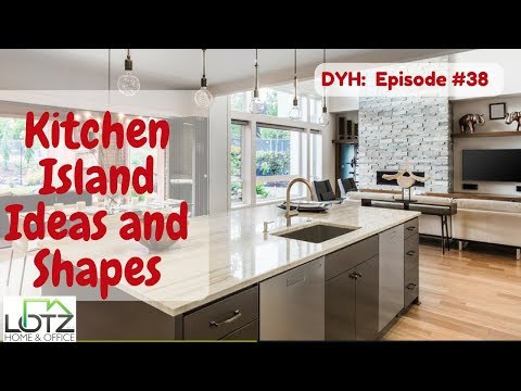 Kitchen Island Ideas and Shapes Video | Find Your Kitchen\'s ...