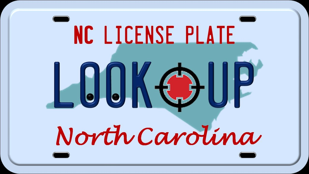 How to Reverse Search a North Carolina License Plate Number - YouTube