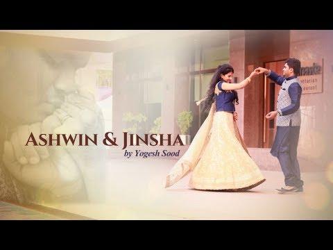 Ashwin and Jinsha engagement
