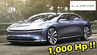 สุดโหด 1,000 แรงม้า ผู้มาฆ่า !!Tesla Model S มันคือ : Lucid Air 2019
