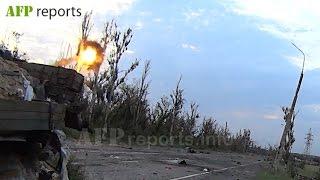 """Vostok"" brigade.The positional confrontation. / Бригада Восток. Пески. Позиционное противостояние"