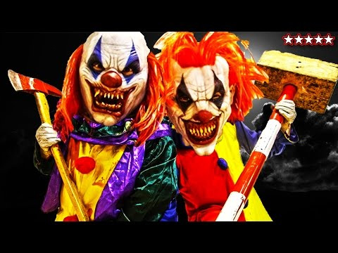 GTA 5 SCARY HALLOWEEN CLOWNS MASSACRE - Snipers VS Stunters - Clown Attacks (GTA 5 Funny Moments)