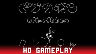 Vib-Ribbon - Sony Playstation (PS1) - HD Gameplay