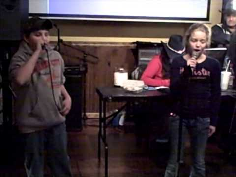 Boy & Girl -   Are You Gonna Kiss Me Or Not? Preformed by: Landon & Preslie