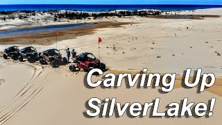Carving Silver Lake Sand Dunes with some Turbo Power!