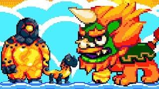 【小熙解说】妖精组合 在熔岩星杂交火系怪物! 火麒麟岩浆巨人火焰蛇!