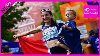 Athlétisme : Clémence Calvin, le bonheur en famille