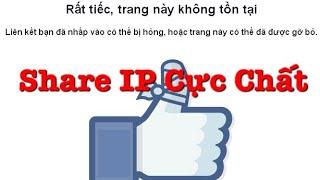 Share IP D.ame Cực Bá Đạo | Hướng Dẫn D.ame Facebook Not Clone Trong 5s