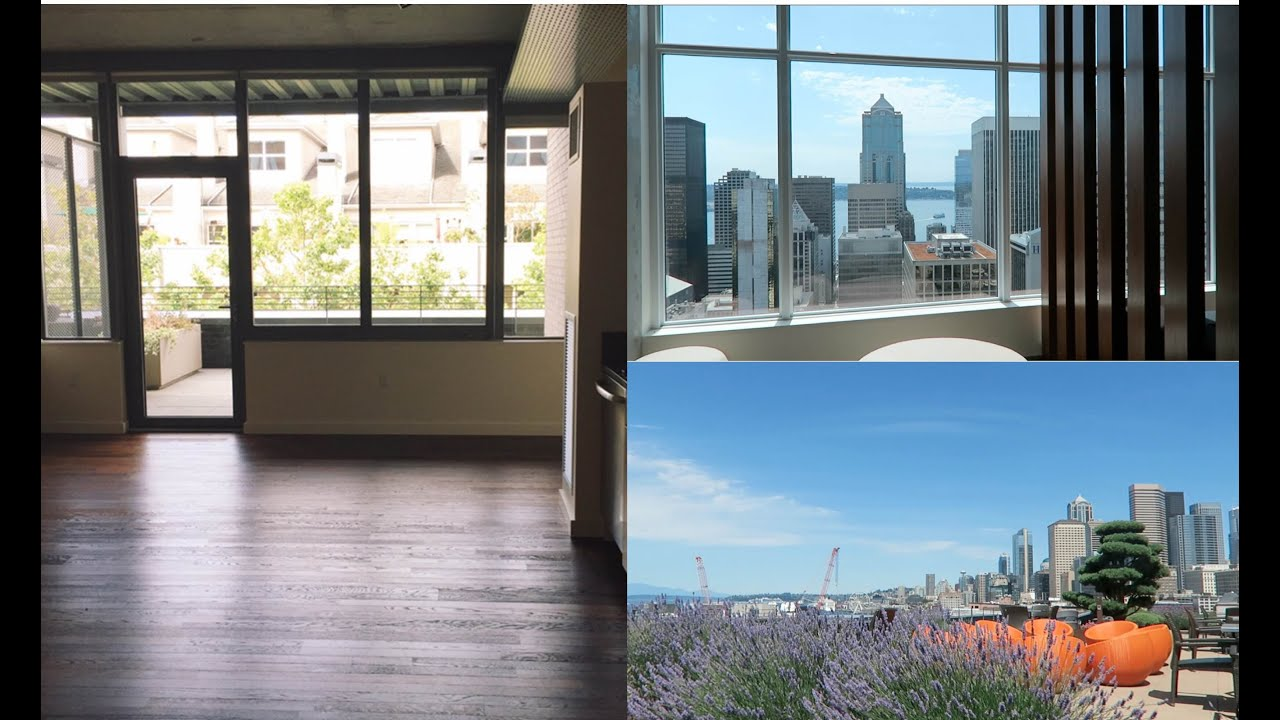 vlog: seattle apartment hunting + my new studio!! - youtube