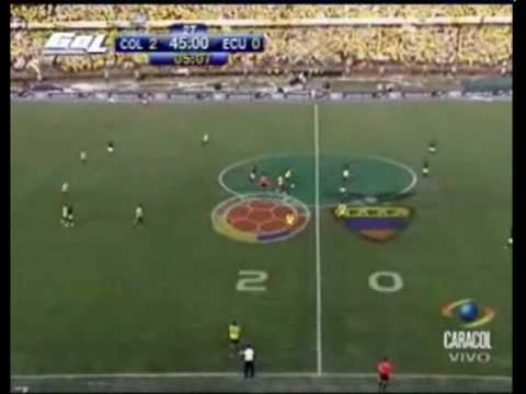 Colombia 2 0 ecuador goles que valen la vida en las for Minimal art venezuela