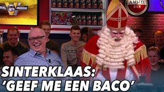 Sinterklaas bij Voetbal Inside: ''Geef mij maar een baco'' - VOETBAL INSIDE