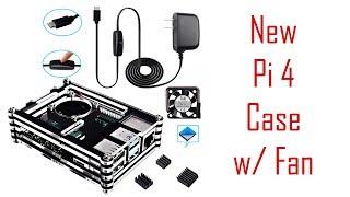 Smraza Raspberry Pi 4 Case with Fan Setup & Test