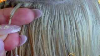 Легкий способ наращивания волос.Наращивание 3D