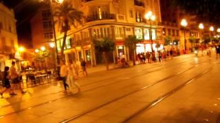 アキーラさん夜の散策①スペイン・セビーリャ(セビリア)市街地!City,Sevilla,Spain