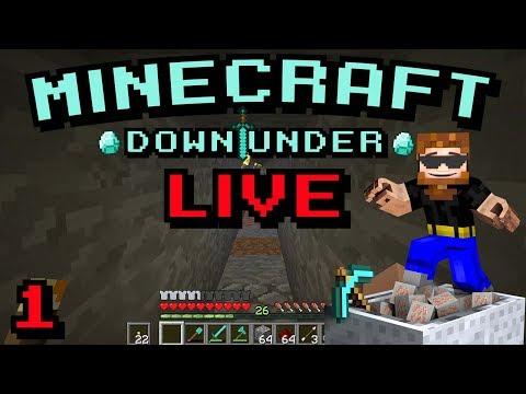 Minecraft Down Under S2 - Live Stream 1 - Honey I'm Home!!!!!