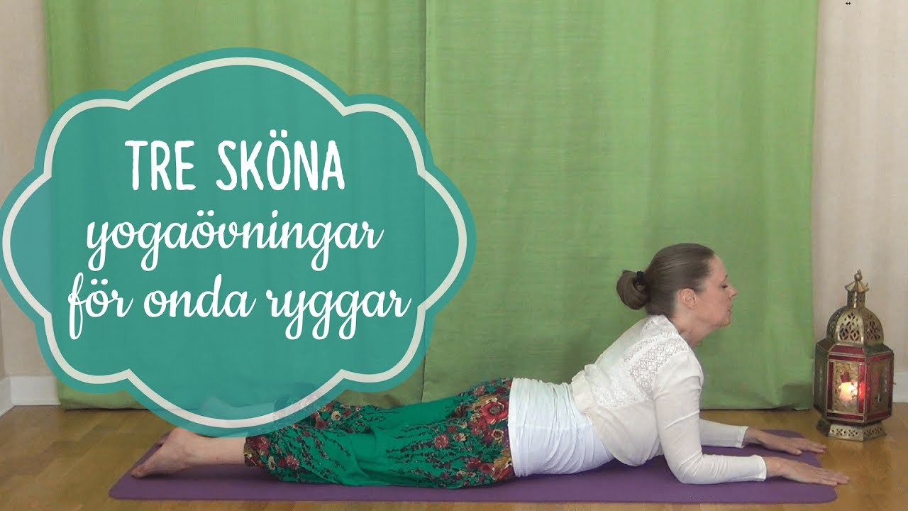 medicinsk yoga övningar