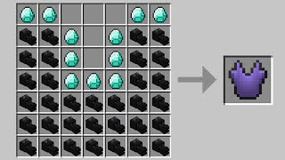 Minecraft but you can craft armor out of any mob...