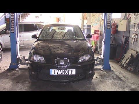 Seat Ibiza 2005 1,9TDI Исчезает антифриз и ремонт резьбы болта поддона