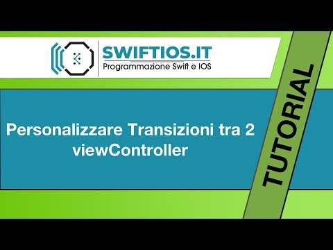 13 - Segue Personalizzato - Swift e IOS | Italiano thumbnail