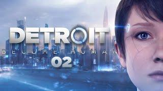 Detroit Become Human #02 | Detektyw moczymorda pijacka