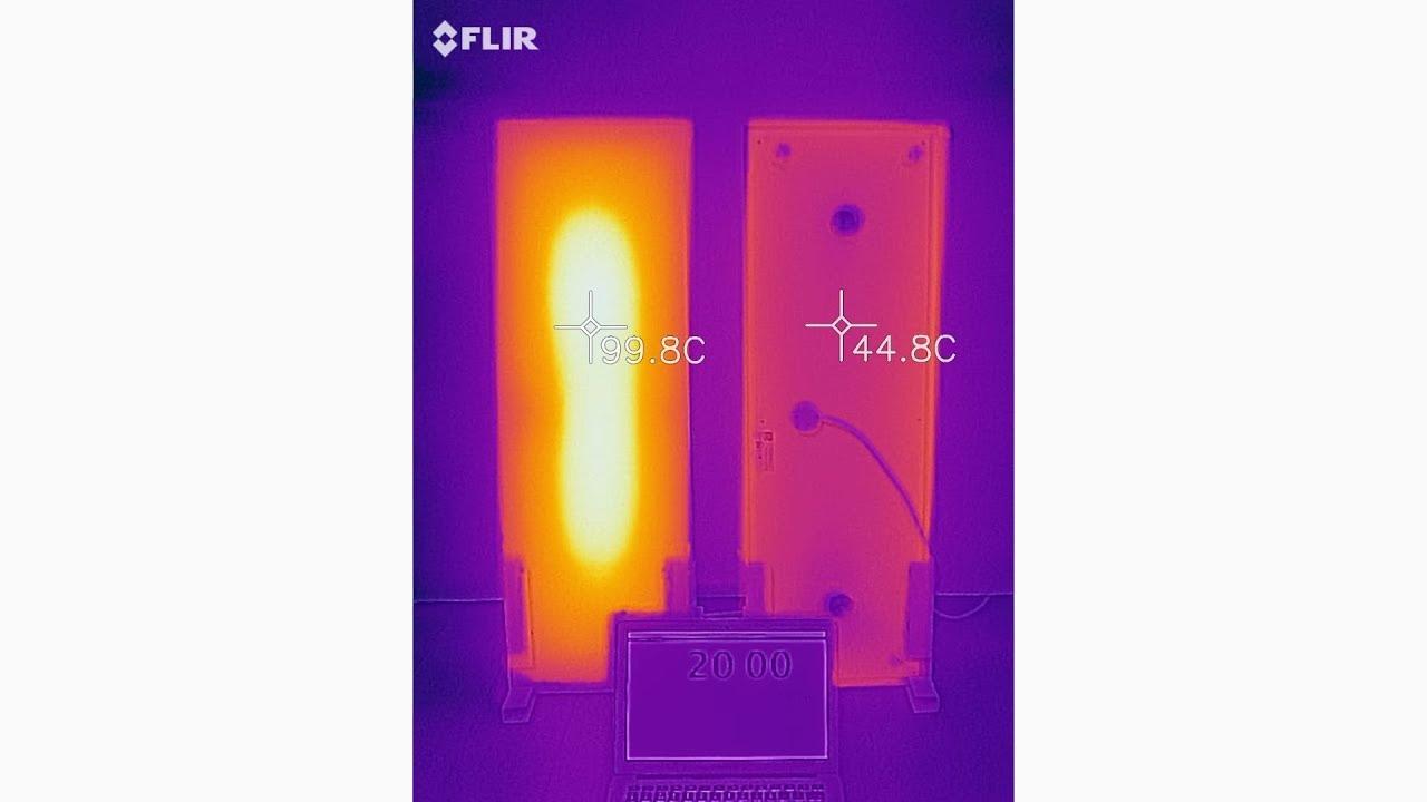 Infrarood Verwarming Garage : Efficiente isolatie infrarood verwarming voorzijde vs