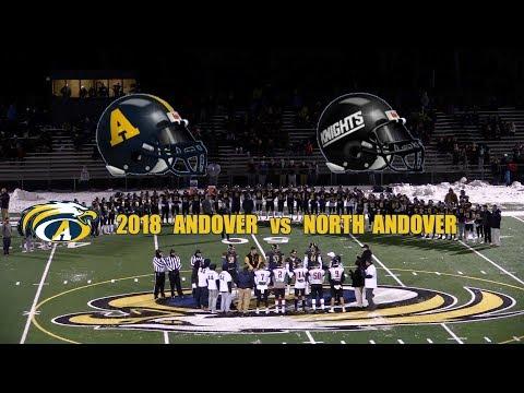 2018 Andover High Football vs North Andover